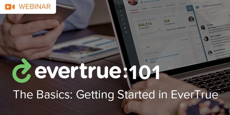 [Webinar] EverTrue 101