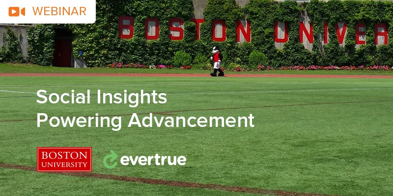 Using Social Insights with Boston University