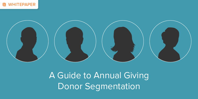 A Guide to Annual Giving Donor Segmentation